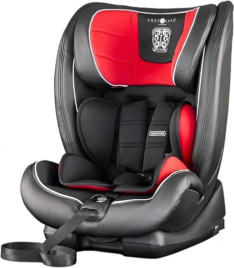 Cozy N Safe, Silla de coche grupo 1/2/3 Isofix, negro/rojo: Amazon ...