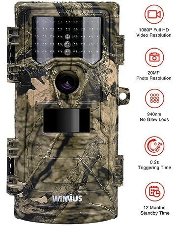 WiMiUS Cámara de Caza 20MP 1080P(30FPS), Camara Caza con 940nm Luz Invisible