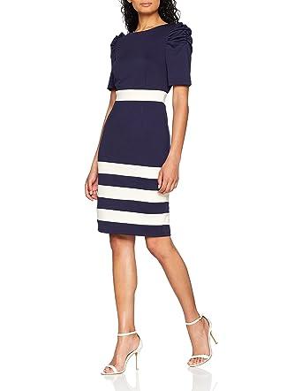 Hem Paper KleidBekleidung Dress Dolls Stripe Damen QhtsxCrd