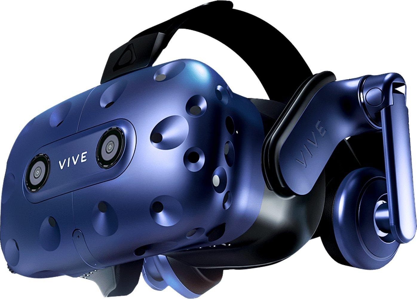 HTC VIVE Pro (2018) Virtual Reality Headset + VIVE Accessory Bundle - European Version by HTC