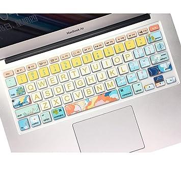 Amazon.com: SANFORIN - Funda de silicona suave para MacBook ...