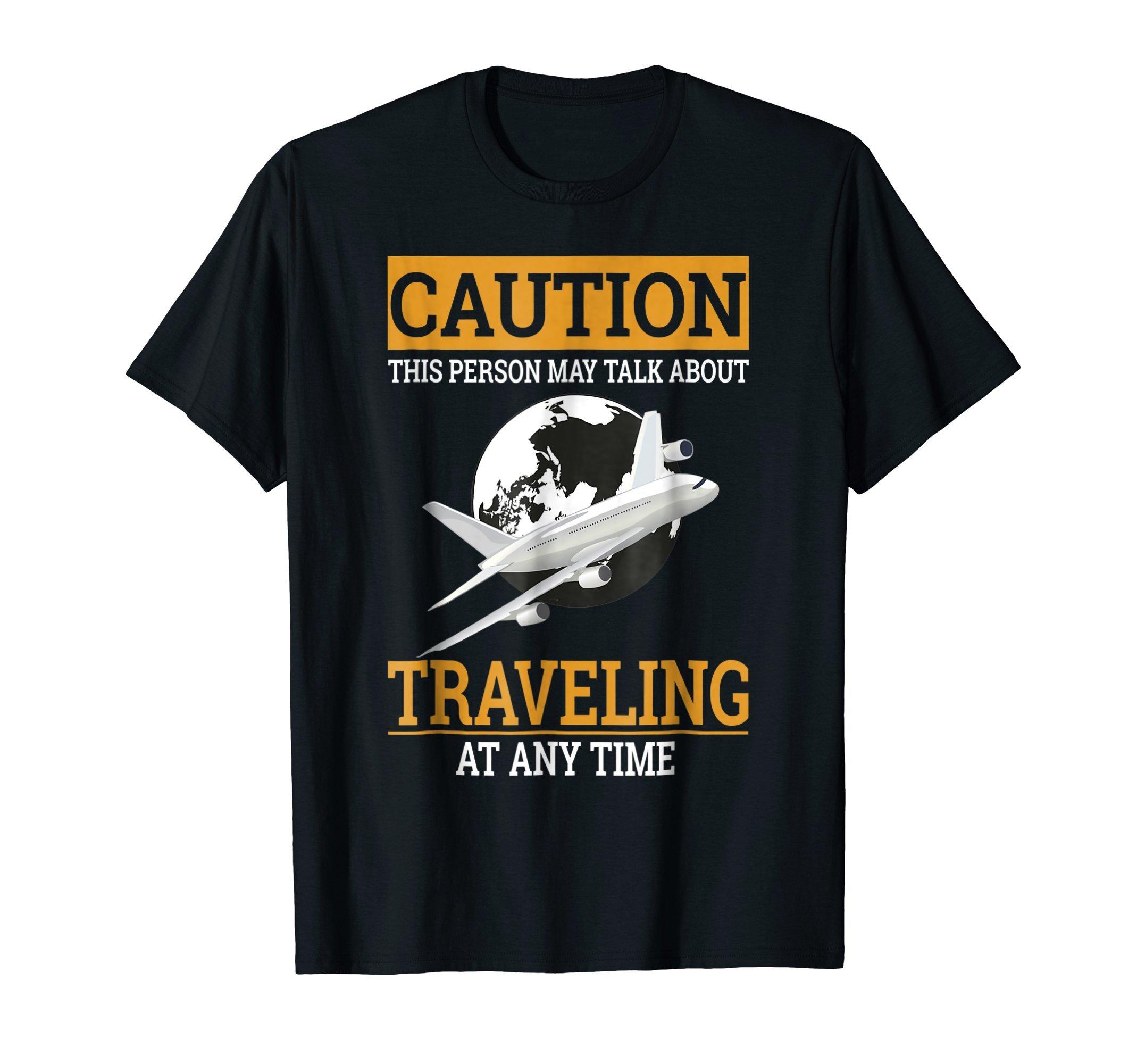 Travel Lover T Shirt Earth Plane Traveling Gift For Traveler