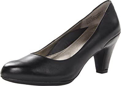 Aetrex Women's Essence Jessie Pump,Black Leather,8.5 ...