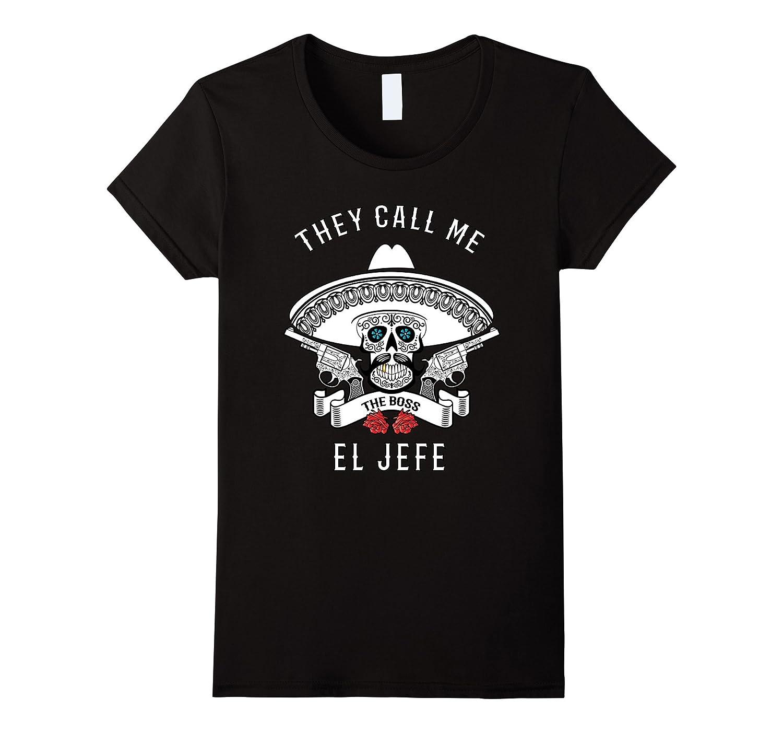 El Jefe Shirt Boss Large-Xalozy