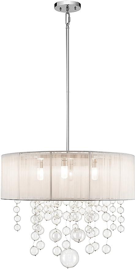 Amazon.com: Elan iluminación Imbuia 5 luz ronda Colgante en ...