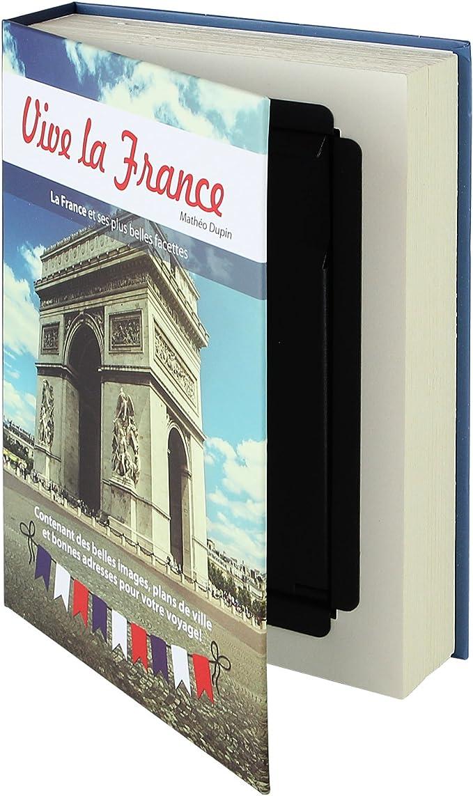 HMF 80925 caja fuerte en forma de libro, caja de caudales ...
