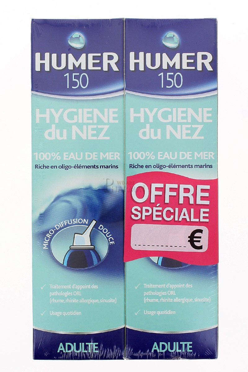 Humer Nasal Hygiene Adult 2 x 150ml 5467