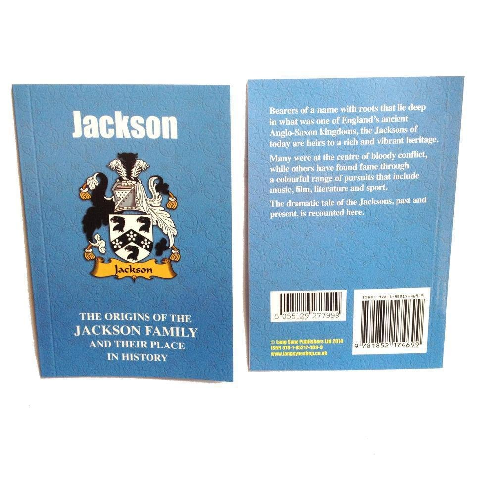 Download Jackson: The Origins of the Jackson Family and Their Place in History (English Name Mini-Book) ebook