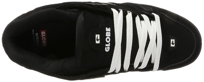 Sabre, Chaussures de Skateboard Homme, Multicolore (Black/Black/Gum) 43 EUGlobe