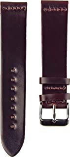 product image for Ashland Leather Men's Two Piece Watch Strap A101 Color 8 Shell Cordovan