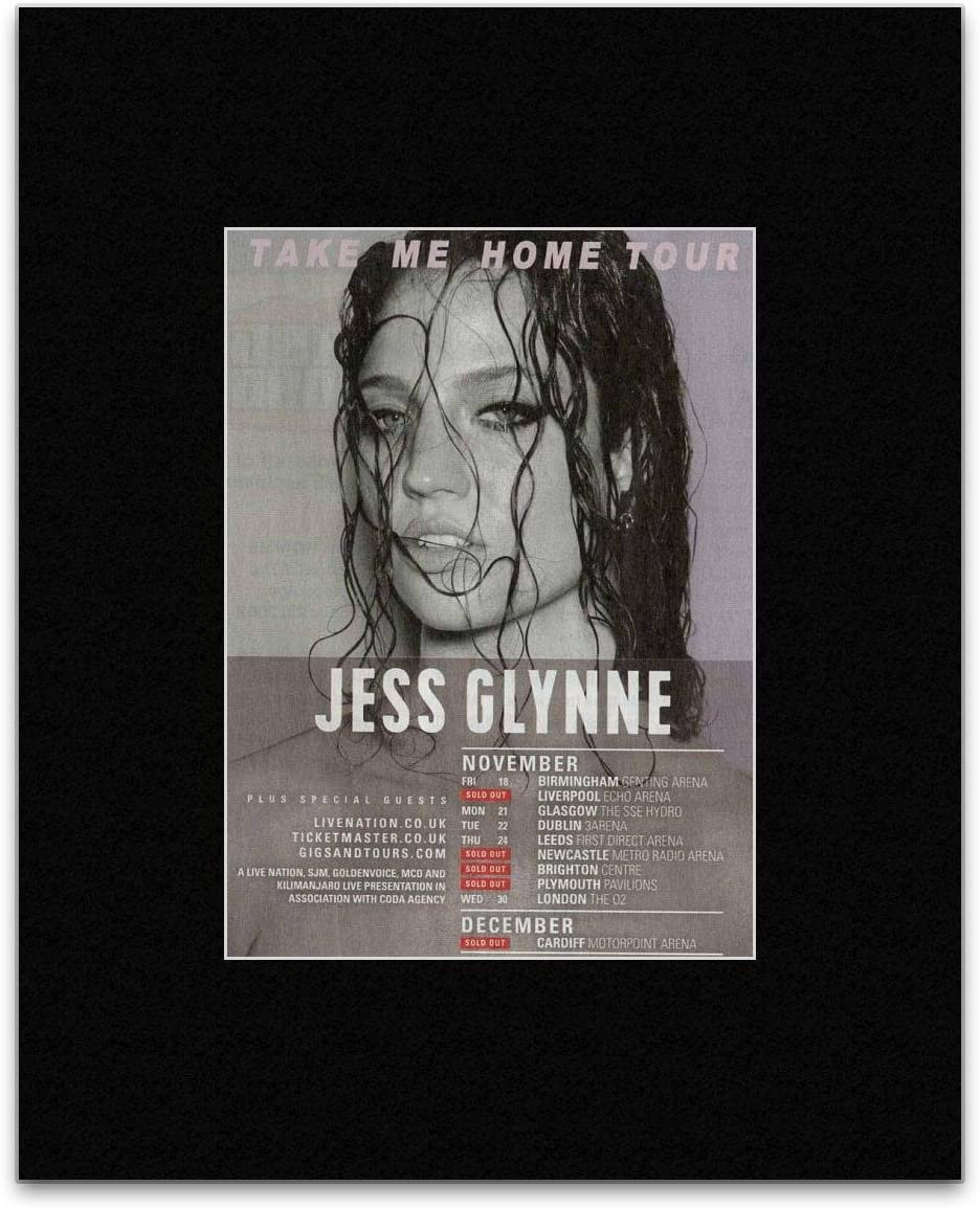 Stick It On Your Wall Jess Glynne - Take Me Home Tour 2016 - Sold Out Dates Mini Poster - 25.4x20.3cm