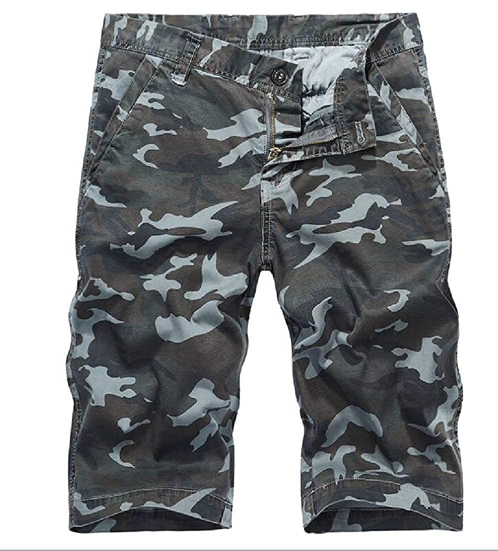 pas mal 3417a 23841 Alion Men Causal Cool Military Camo Short Pants Homme Cargo ...