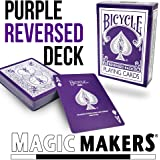 The Purple Deck In Bicycle - from Magic Makers & US Playing Card Co