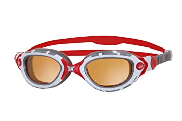 3da5876d4 Zoggs Predator Flex Polarized Ultra - Gafas de natación, multicolor  (white/red/silver), Talla única: Amazon.es: Deportes y aire libre