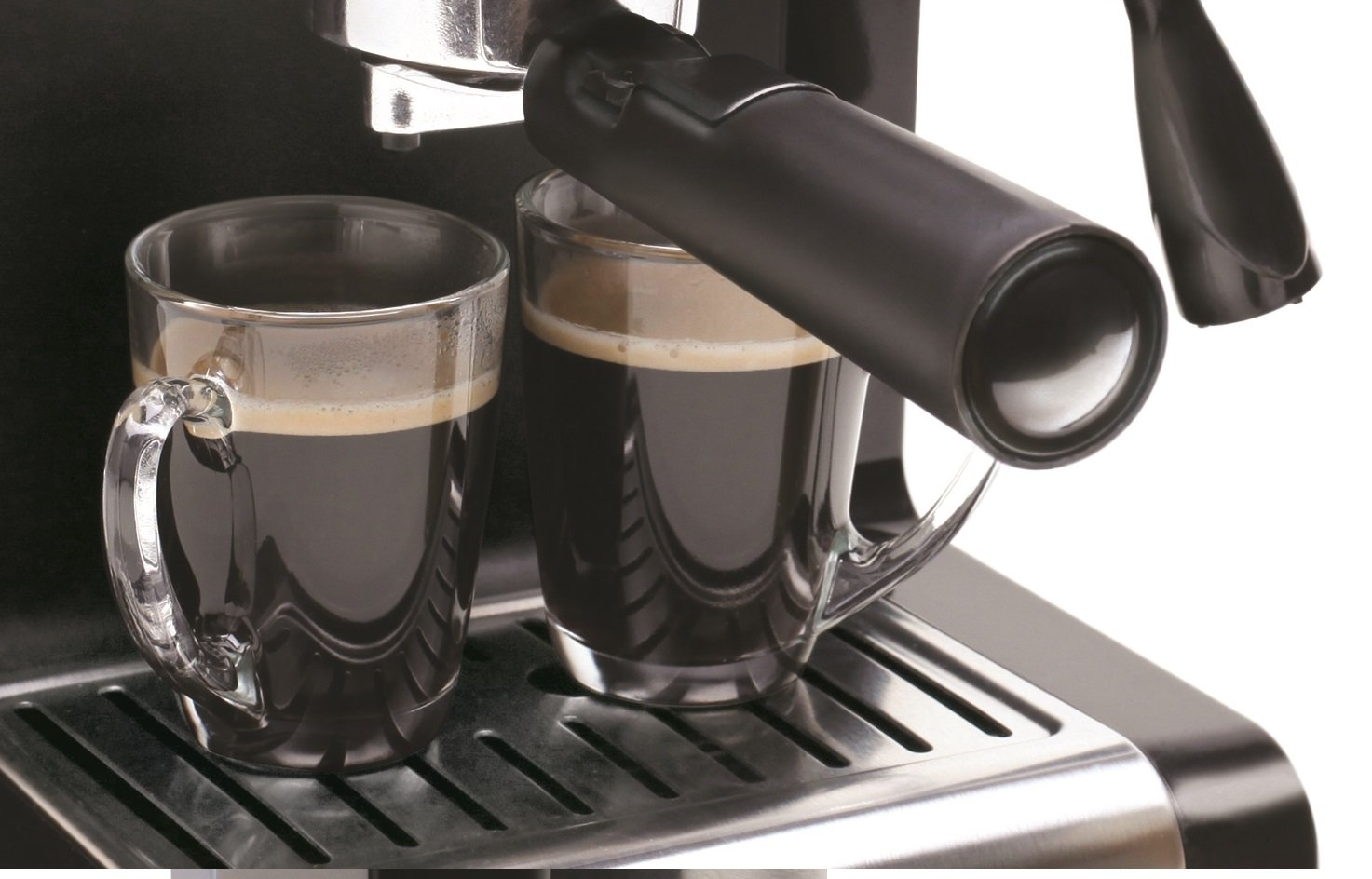 Capresso 116.04 Pump Espresso and Cappuccino Machine EC100, Black and Stainless by Capresso (Image #6)