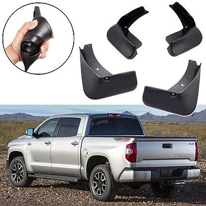 Funlove Mud Splash Guards Flaps for 2014 2015 2016 2017 Toyota Tundra Accessories