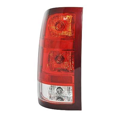 Tail Light Assembly For 2007-2013 GMC Sierra 1500 (SL, SLE, SLT, WT) - 2007-2010 GMC Sierra 2500 HD - GM2800208 - Includes Bulb: Automotive [5Bkhe1514220]