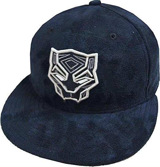New Era black panther suede DC Marvel Cap 59 Fifty Fitted Special Limited Edition