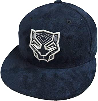 Amazon.com  New Era Black Panther Black Suede DC Marvel Cap 59fifty 5950  Fitted Basecap Kappe Men Special Limited Edition  Clothing a231ccd85db