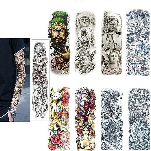 SOFIALXC Tatuajes Temporales - Arte del Tatuaje del Dragón Cruz ...