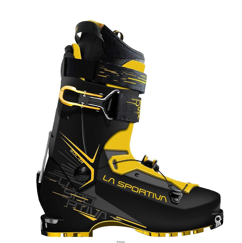 - La Sportiva 88W999100, botas de fútbol Unisex Adulto, (negro amarillo 000), 42 2 3 EU