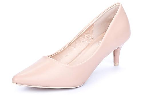 La Push Dalia Zapatos de Mujer Tacón Rosa Palo