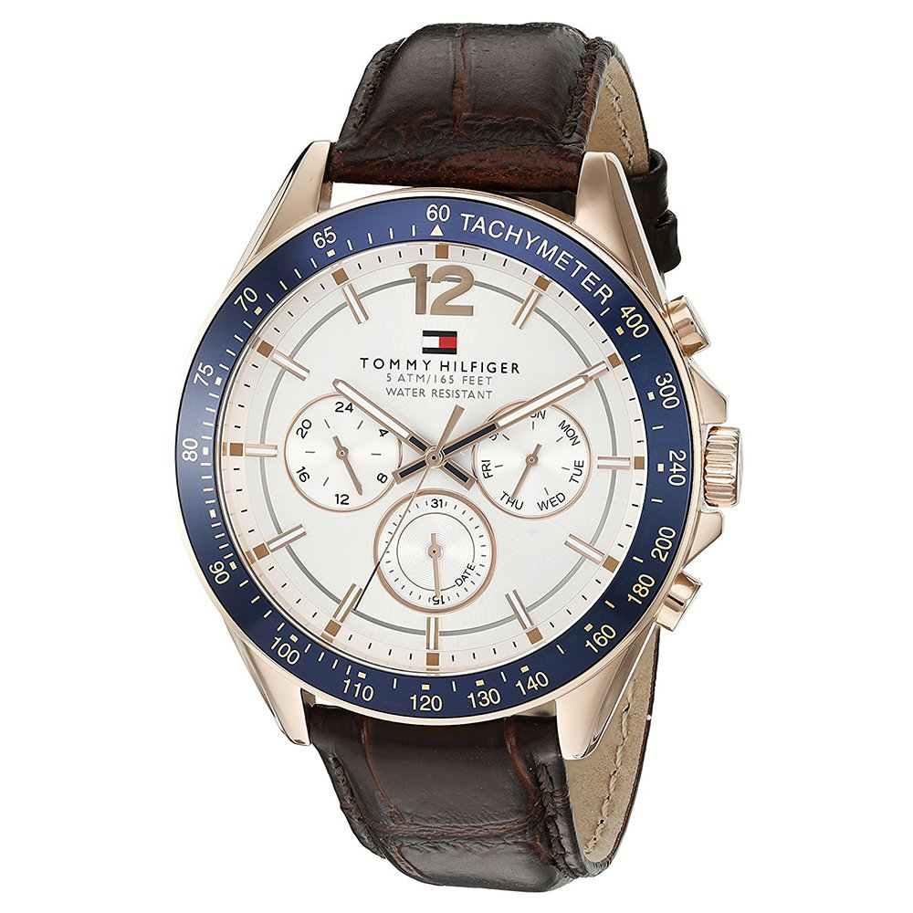Tommy Hilfiger Analog Silver Dial Men's Watch - TH1791118J