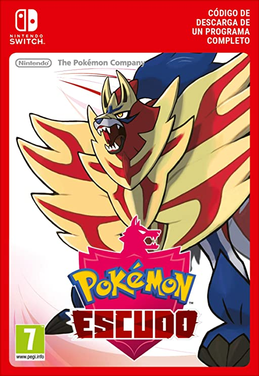 Pokémon Escudo [Switch - Código de descarga]: Amazon.es: Videojuegos