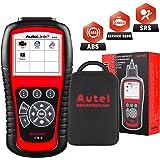 Autel AutoLink AL619 OBD2 Scanner ABS SRS Airbag Warning Light Scan Tool, Turn Off Check Engine Light Car Diagnostic Tool, Vi