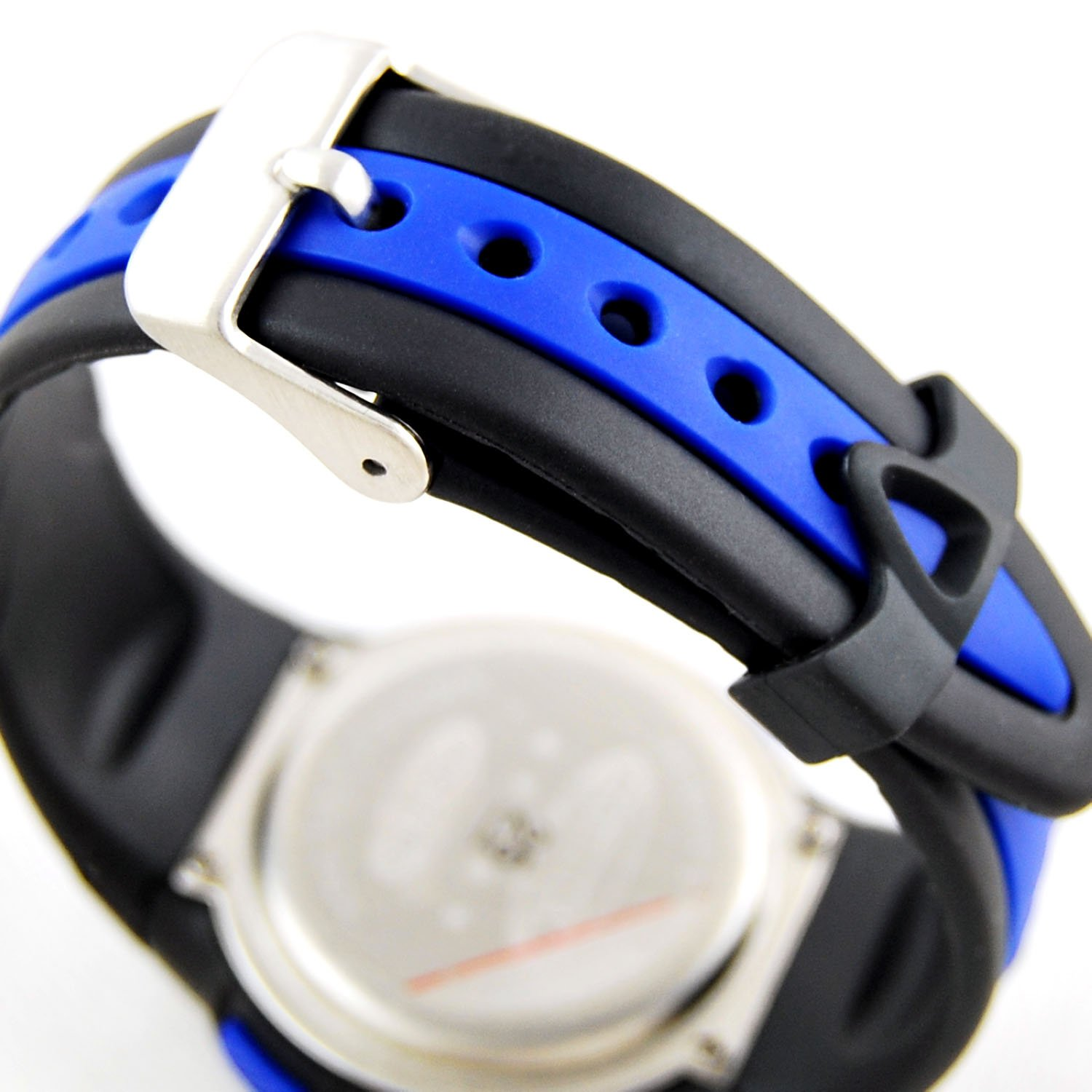 AZLAND Waterproof Swimming Led Digital Sports Watches for Children Kids Girls Boys,Rubber Strap,Blue by AZLAND (Image #4)
