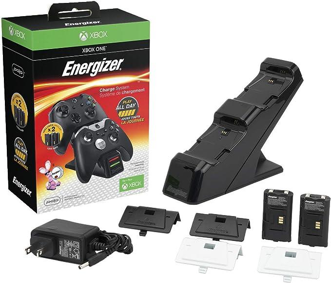 PDP - Cargador Energizer 2 Mandos (Xbox One): Amazon.es: Videojuegos