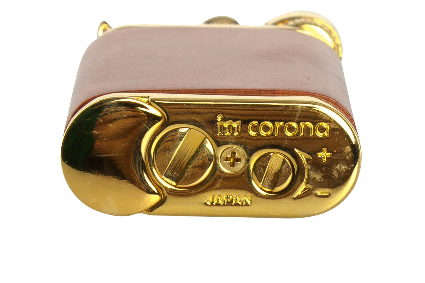 IM Corona Old Boy Gold And Natural Smooth Briar Pipe Lighter by IM Corona (Image #3)