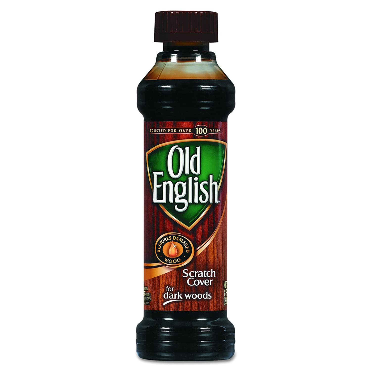 OLD ENGLISH 75144CT Furniture Scratch Cover, For Dark Woods, 8 Oz Bottle (Case of 6)
