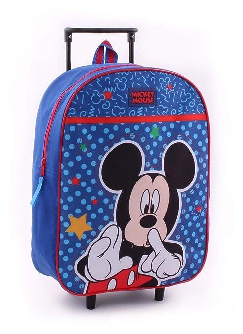 Carrito Mickey Mouse con Ruedas para niños: Amazon.es: Equipaje