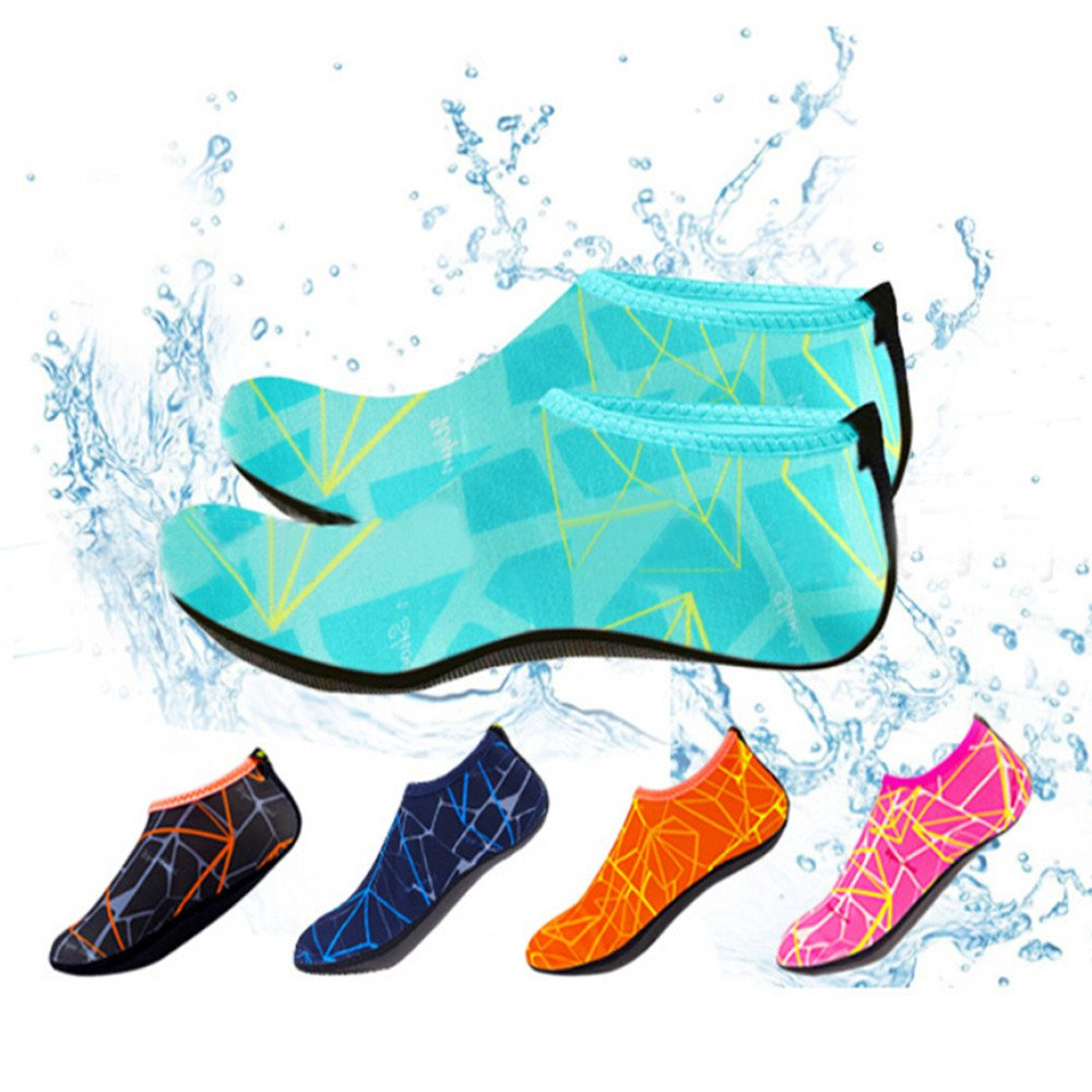 Mens Womens Water Shoes Quick Dry Barefoot for Swim Diving Surf Aqua Sports Pool Beach Walking Yoga,SUNSEE