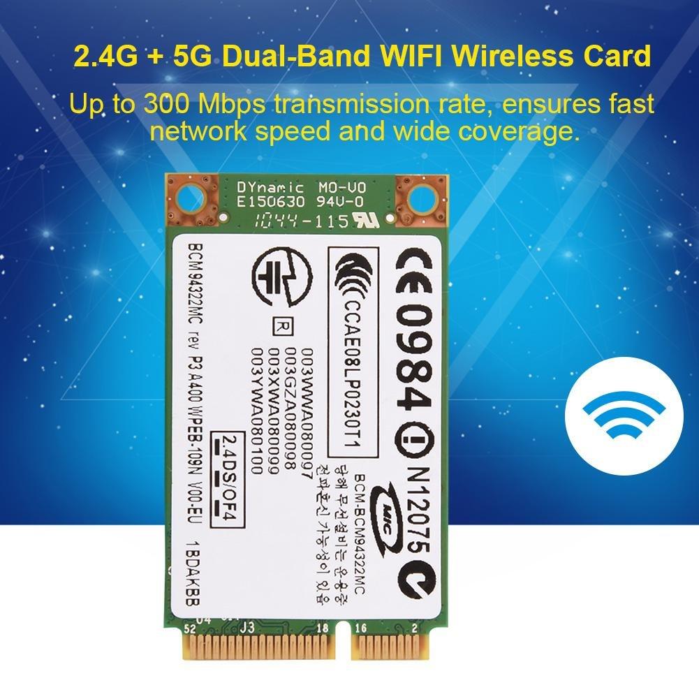 Amazon.com: Fosa Professional 2.4G + 5G Dual-Band Mini PCI-E ...
