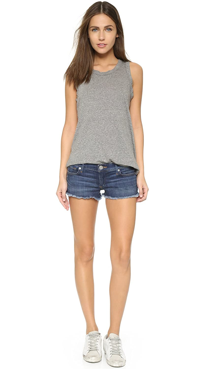 True Religion Women's Joey Cut Off Short In Worn Vintage