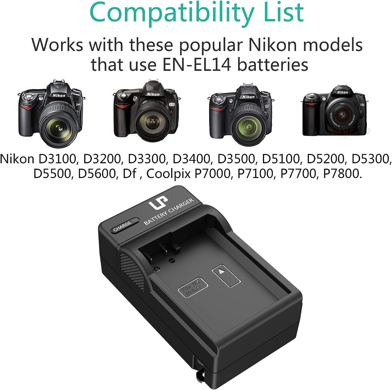 D3300 Cámara SLR Cargador De Batería Para Nikon D3100 D3500 Digital D3400 D3200