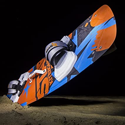 Amazon.com: Star Kiteboarding Edge 133 Board, Kitesurfing Boards, Freeride, Powerful, Maneuvrable, 133 x 41 cm All Wind Condition Twin Tips All Riders ...