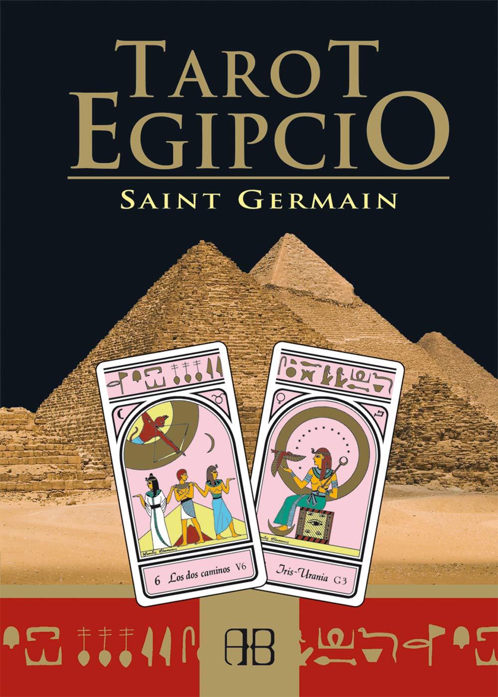 Tarot Egipcio/ Egipcian Tarot (Spanish Edition): Saint ...