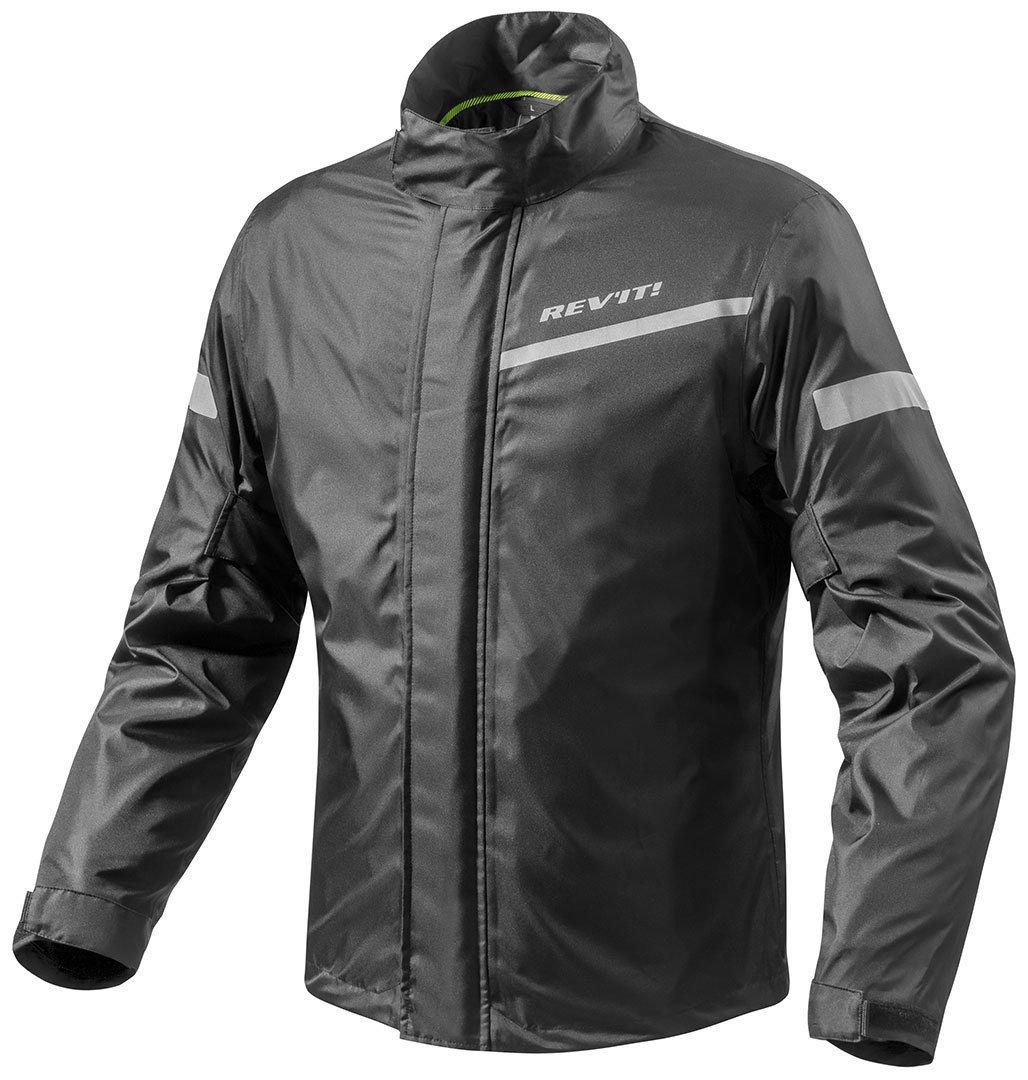 FRC010 - 0010-XL - Rev It Cyclone 2 H2O Rainwear Motorcycle Over Jacket XL Black Rev' It wz-8700001205610