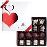 Fames Assorted Chocolate Gift Box – Handcrafted Deluxe Chocolates - Kosher (16 Count)