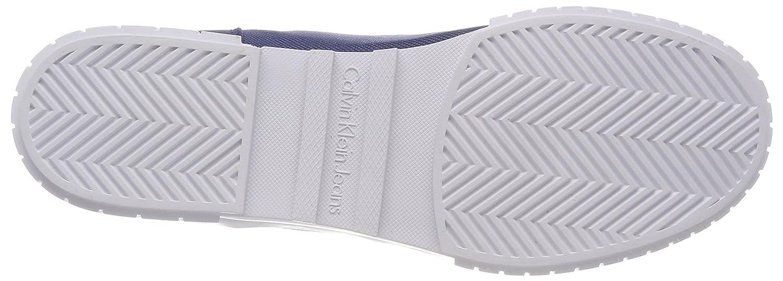 Bianca Nylon, Zapatillas para Mujer, Azul (Stb 000), 39 EU Calvin Klein Jeans