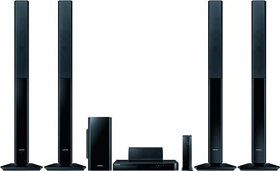 Samsung HT-H5550W - Equipo de Home Cinema 5.1 de 1000 W (Ethernet, HDMI, Bluetooth), negro (importado): Amazon.es: Electrónica
