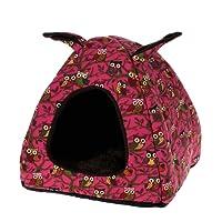 Toca Pet Para Cachorro e Gato Rosa 40x40cm - Meu Pet