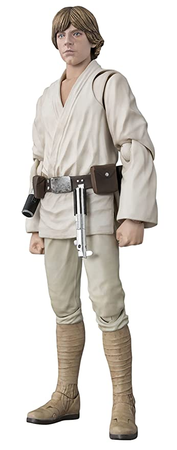 1 opinioni per BANDAI S.H Figuarts Star Wars Luke Skywalker (A NEW HOPE)?€about 150mm ABS