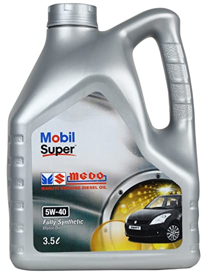 Mobil Super MGDO 5W-40 API SM/SL Fully Synthetic Motor Oil for Cars