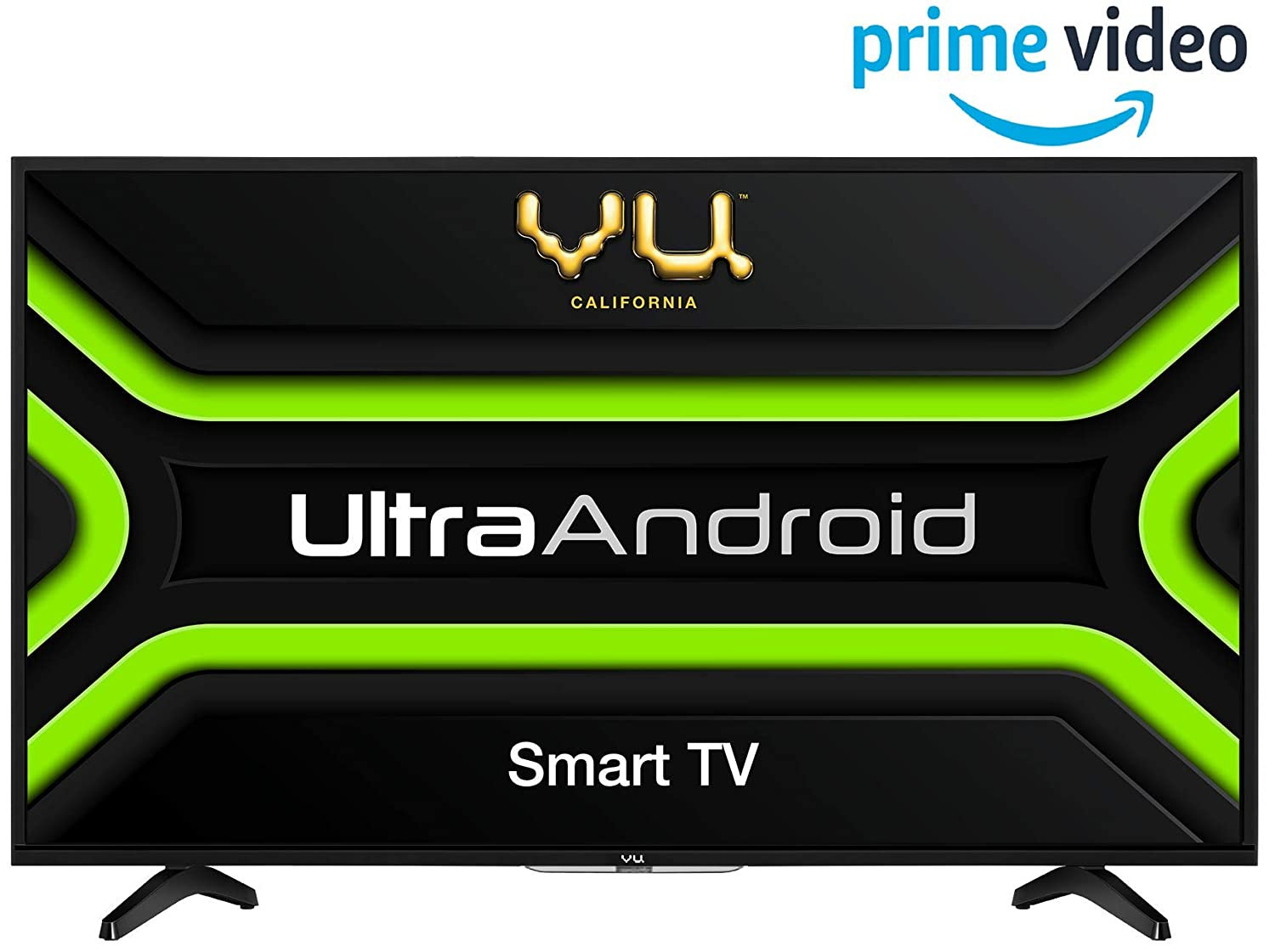 Vu 81.3 cm (32 inches) Ultra Android 32GA HD Ready LED Smart TV (Black)