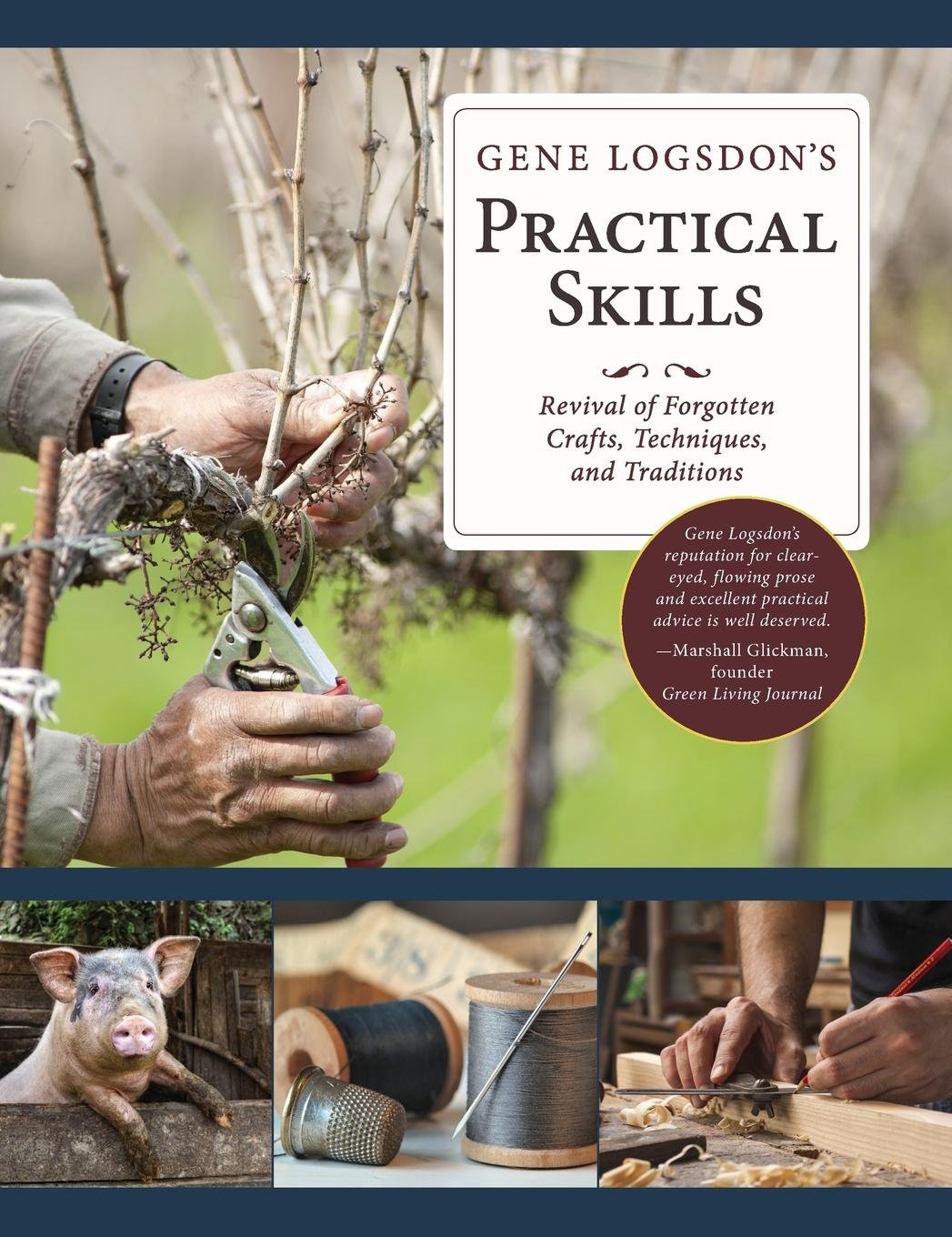 Gene Logsdon's Practical Skills: A Revival of Forgotten Crafts, Techniques, and Traditions by Echo Point Books & Media