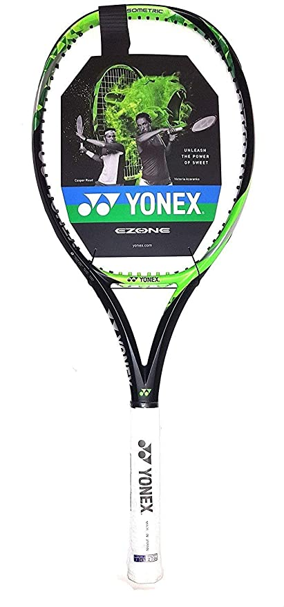 16d7aa236aadcc ヨネックスEZONE Lite ( 286g – 10.1 Oz )ライムグリーンテニスラケットStrung withカスタム